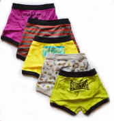 Underwear Brief Boy - Boys Boxer Briefs 5-pack - Underwear Brief Boy (L