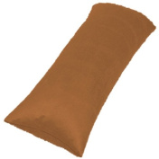 Luxury Faux Suede Body Pillow Cover with zipper enclosure 100 % high quality Micro Suede fabric 50cm x 140cm