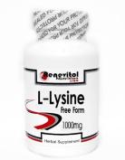 L-Lysine Free Form 1000mg 200 Capsules ~ Renevitol