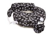 Zenoff Products Nursing Pillow, Flowing Fans, Black