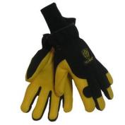 Tillman 1592 Top Grain Deerskin/Spandex Thinsulate Lined Winter Gloves, X-Large