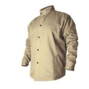 Revco BSX BXTN9C Khaki Fire Resistant Cotton Welding Jacket, 2X-Large
