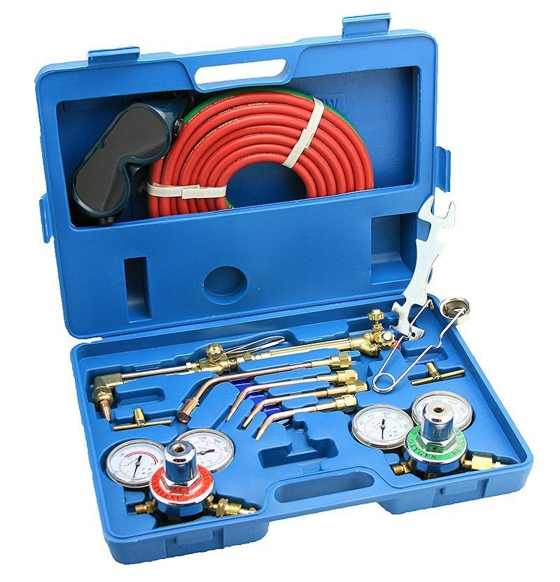 Gas Welding & Cutting Torch Kit, Professional Set, Victor Type