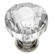 Belwith HH74689-CA14 Knob 1-1/4 Crysacrylic Bright Nickel