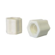 Two Compression Nuts for Automatic Chlorinator Off-Line Replacement Part