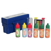 Swimming Pool Water Test Kit for Hard, Free CH, Tot CH, ALK and PH