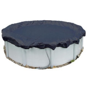 11m Round Above-Ground Pool Winter Cover 8 Yr. with attachment Clips