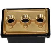 Pentair 78310700 2.5cm Black Junction Box Port Replacement Spa Light System