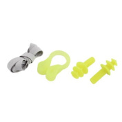Beach Swimming Waterproof Hearing Protection Ear Plug Nose Clip Set