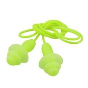 Water Sports Swim Sleep Hearing Protection Earplug Ear Plug Yellow