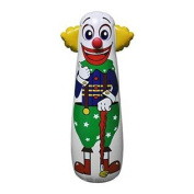 41cm L x 46cm W x 130cm H Inflatable Clown Punching Bag, inflatable Toys,Stuffed Toys,indoor and Outdoor Play