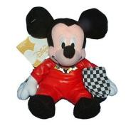 Disney Mini Bean Bag 20cm Car Racing Mickey Mouse