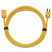 Digi-Sense Type-K, Extension Cable, Mini Connector, 3m, 20-Gauge