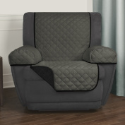 Maytex Reversible 3-piece Microfiber Recliner Pet Cover