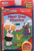 Active Pad Next Step Phonics Interactive Book Cartridge