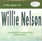 WILLIE NELSON Country Karaoke Classics CDG Music CD