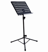 D'Luca Conductor Music Stand Black