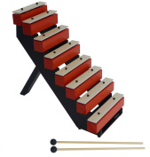 Suzuki Musical Instrument Corporation TB-25 Step Bells with Stand and Mallets