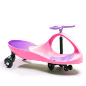 Active Play Swing Car Ride-On, Pink/Purple
