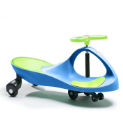 Active Play Swing Car Ride-On, Blue/Green