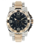 Invicta Men's 0204 Reserve Collection Excursion Chronograph Stainless Steel Watch