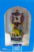 Disney 23cm Sculpted Anniversary Clock, Tinker Bell, Neverland