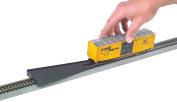 Bachmann HO Scale Train Steel Rails w Black Roadbed E-Z Railer 44492