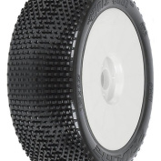 Pro-Line Racing 904132 Hole Shot 5.1cm M3 Soft Off-Road Mounted Buggy Tyres, 1:8 Scale