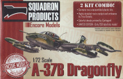 Encore Models 1/72 Scale A-37b Dragonfly Aircraft Model Building Kit