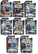 Hot Wheels Star Wars Cars Bundle of 8 Cars