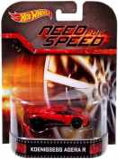 "Koenigsegg Agera R ""Need For Speed"" Hot Wheels 2014 Retro Series Die Cast Vehicle"