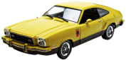 GreenLight 1976 Ford Mustang II Stallion (1:18 Scale), Yellow and Black