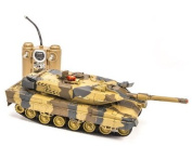 Desert Camo M1 Abrams R/c Tank With Fighting Infra Red Shooting