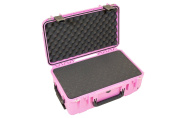 SKB 3i-2011-7P-C Waterproof Case with Cubed Foam, Pink