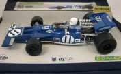 Scalextric Grand Prix C3655A Legend Jackie Stewart Tyrell 003 #11 Formula One 1:32 Scale Slot Car