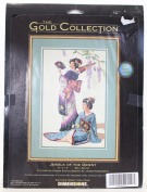 "The Gold Collection Counted Cross Stitch Jewels of the Orient 11"" x 17"""