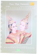 Two Thai Dancers Counted Cross Stitch [Paperback]