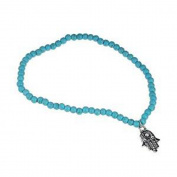 Fulltime(TM) Women Fashion Anklet Boho Beads Hamsa Fatima Anklets Foot Chain Beach Jewellery