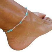 Fulltime(TM) Girls Hot Handmade Bead Chain Anklet Foot Leg Chain Bracelet Jewellery