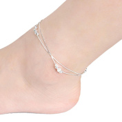 Fulltime(TM) Women Sexy Love Ankle Chain Anklet Foot Jewellery Sandal Beach