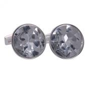 Clear Gemstone Cufflinks