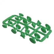 Green Rubber Cufflinks