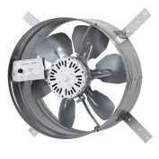 iLIVING Automatic Gable Mount Attic Ventilator Fan with Adjustable Thermostat with 3.10 Amps