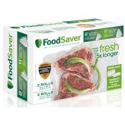 FoodSaver Combo Pack 20cm x 50cm and 28cm x 41cm Heat-seal Rolls
