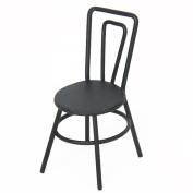 Veroda 1/12 Dollhouse Black Miniature Alloy Sewing Machine Chair