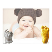 3D Plaster Handprints Footprints Baby Hand & Foot Casting Mini Kit