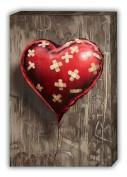 BandAid Heart Balloon Banksy Canvas Prints Wall Art A2 Size