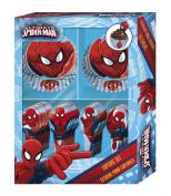 BoyzToys Cupcake Set - Spider Man, Blue