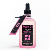 Pure Argan Oil with Frangipani Flower Absolute and Bergamot Essential Oil. 100ml. Organic. For Face, Body, Hair.