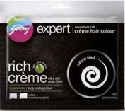 Godrej 5 X Expert Rich Creme Hair Colour Natural Black 40 Gm Each